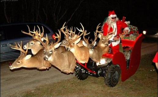 Santa Has Replaced His Sleigh With This