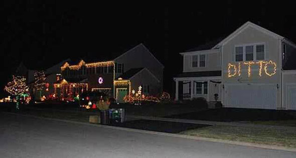 Which Neighbor Has The Best Looking Christmas Decorations